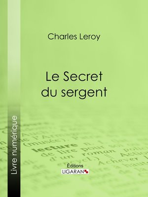 cover image of Le Secret du sergent