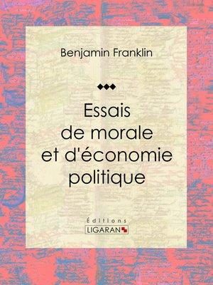 cover image of Essais de morale et d'économie politique