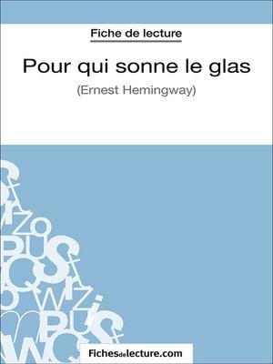 cover image of Pour qui sonne le glas