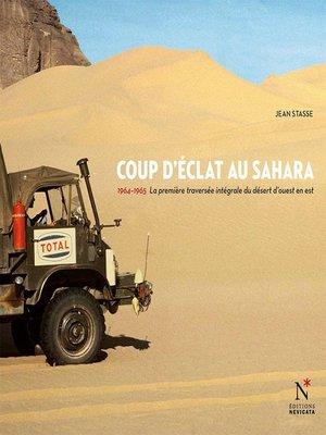 cover image of Coup d'éclat au Sahara