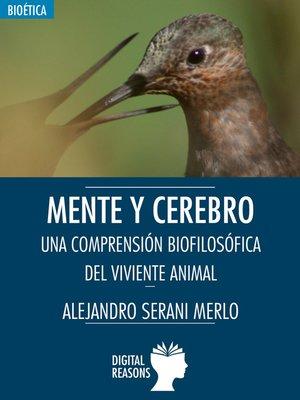 cover image of Mente y cerebro
