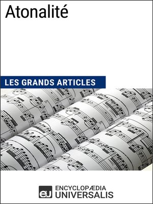 cover image of Atonalité