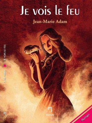 cover image of Je vois le feu