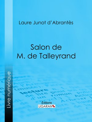 cover image of Salon de M. de Talleyrand