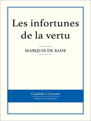 cover image of Les infortunes de la vertu