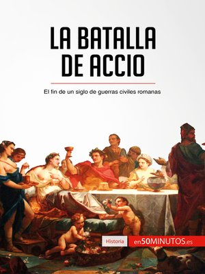 cover image of La batalla de Accio