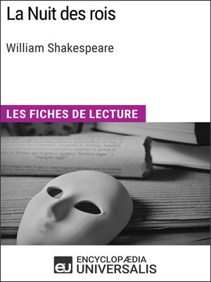 cover image of La Nuit des rois de William Shakespeare