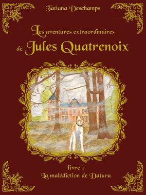 cover image of Les aventures extraordinaires de Jules Quatrenoix--Livre 1