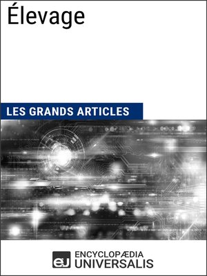 cover image of Élevage
