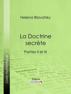 cover image of La Doctrine Secrète
