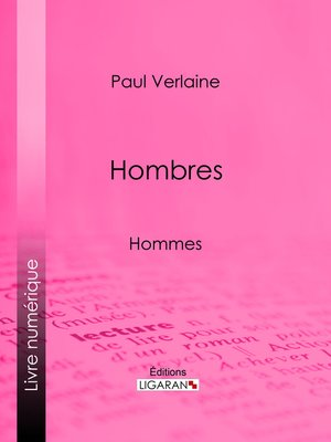 cover image of Hombres