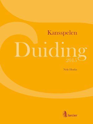 cover image of Duiding Kansspelen