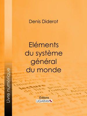 cover image of Eléments du système général du monde