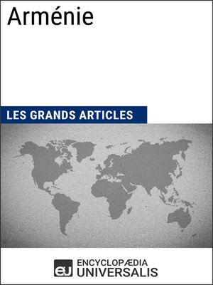 cover image of Arménie (Les Grands Articles d'Universalis)