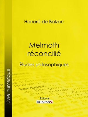 cover image of Melmoth réconcilié