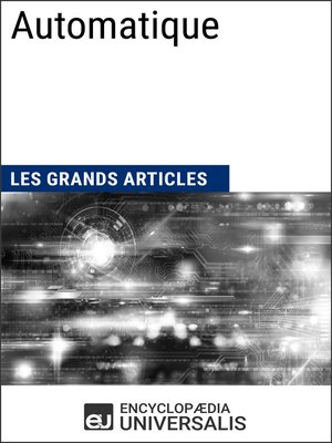 cover image of Automatique