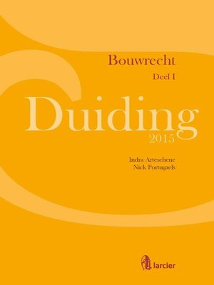 cover image of Duiding Bouwrecht
