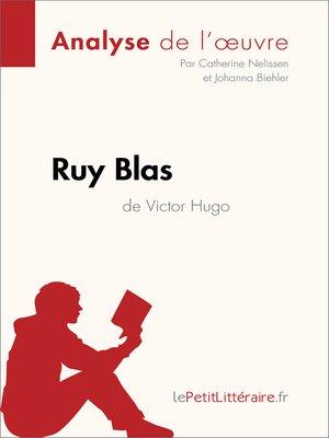 cover image of Ruy Blas de Victor Hugo (Analyse de l'oeuvre)