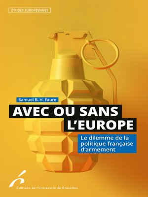cover image of Avec ou sans l'Europe