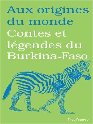 cover image of Contes et légendes du Burkina-Faso