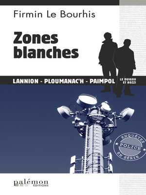 cover image of Zones blanches