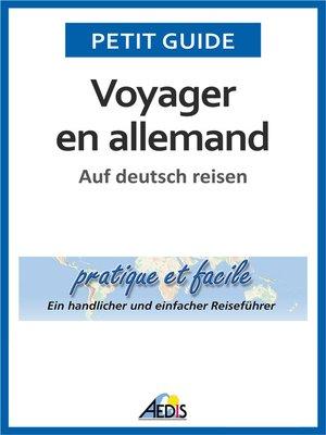 cover image of Voyager en allemand