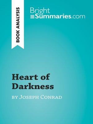 cover image of Heart of Darkness by Joseph Conrad (Book Analysis)