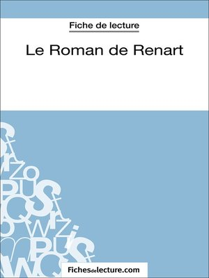 cover image of Le Roman de Renart (Fiche de lecture)