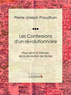 cover image of Les Confessions d'un révolutionnaire