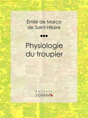 cover image of Physiologie du troupier