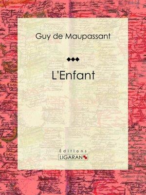 cover image of L'Enfant