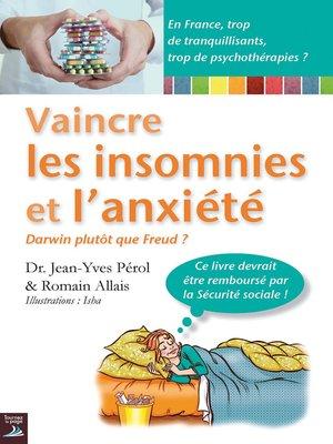 cover image of Vaincre les insomnies et l'anxiété