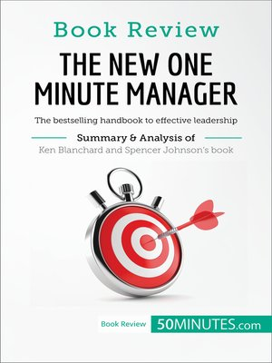 cover image of The New One Minute Manager by Kenneth Blanchard and Spencer Johnson: The bestselling handbook to effective leadership