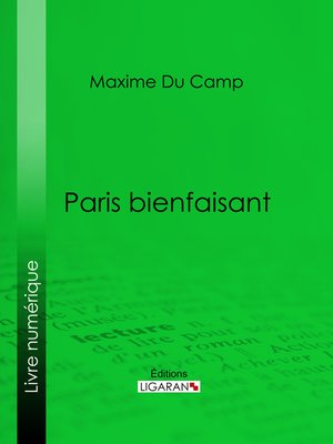 cover image of Paris bienfaisant