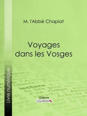 cover image of Voyages dans les Vosges