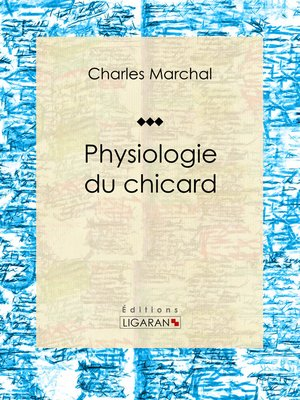 cover image of Physiologie du chicard