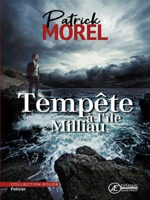 cover image of Tempête à l'île Milliau