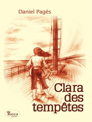 cover image of Clara des tempêtes