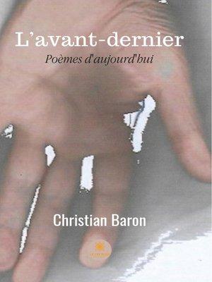 cover image of L'avant-dernier