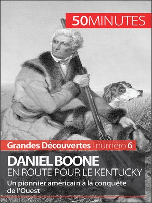 cover image of Daniel Boone en route pour le Kentucky