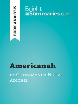 cover image of Americanah by Chimamanda Ngozi Adichie (Book Analysis)