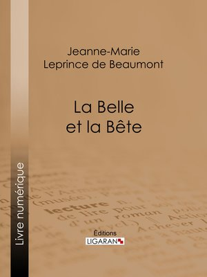 cover image of La Belle et la Bête