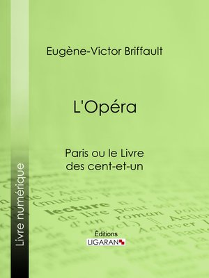 cover image of L'Opéra