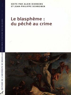 cover image of Le Blasphème