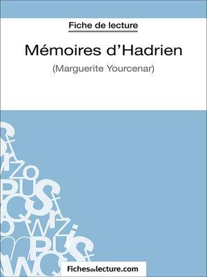 cover image of Mémoires d'Hadrien