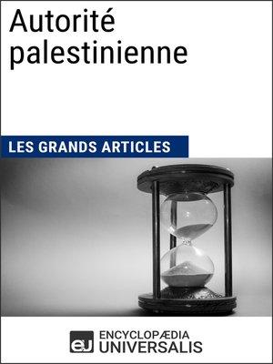 cover image of Autorité palestinienne