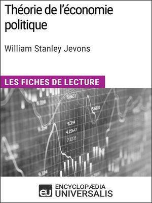 cover image of Théorie de l'économie politique de William Stanley Jevons
