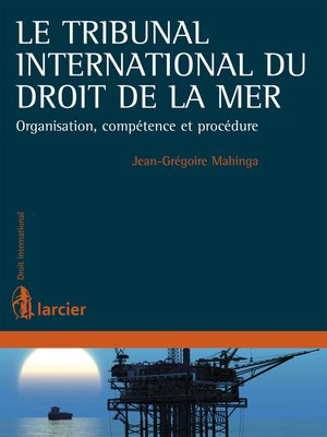 cover image of Le Tribunal international du droit de la mer
