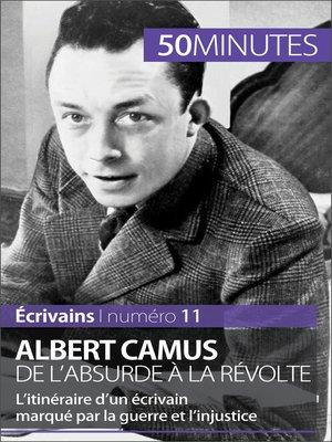 cover image of Albert Camus, de l'absurde à la révolte