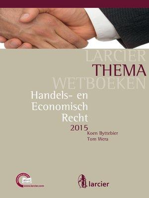 cover image of Handels- en Economisch Recht
